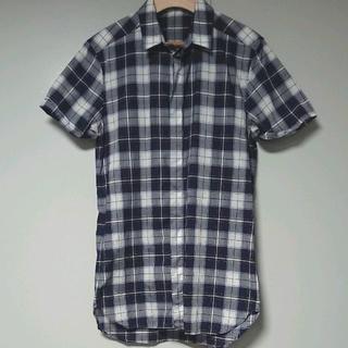 クリスヴァンアッシュ(KRIS VAN ASSCHE)のKRIS VAN ASSCHE チェックロングシャツ h/s(シャツ)