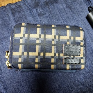 マルニ(Marni)のMARNI PORTERWジップウォレットused(折り財布)