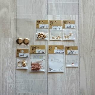 キワセイサクジョ(貴和製作所)のハンドメイド 素材 パーツ 8種類(各種パーツ)