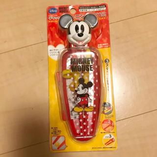ディズニー(Disney)の新品 ディズニー ミッキー トレーニング箸 ケース付き(その他)