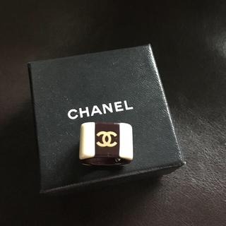 シャネル(CHANEL)のCHANEL シャネルリング  アクリル(リング(指輪))