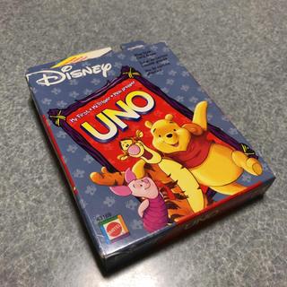ディズニー(Disney)のUNO♡ディズニー(プーさん)カードゲーム(トランプ/UNO)