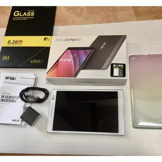 エイスース(ASUS)のASUS新同品 未記保付ZenPad 8.0 Z380M-WH16ホワイト白 (タブレット)