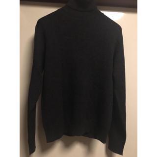 MUJI (無印良品) - 【新品・未使用】無印良品 洗えるメリノウールリブ タートルネックセーター