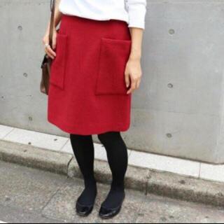 イエナ(IENA)のソフトマッサー台形スカート (ひざ丈スカート)