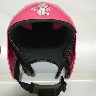 ディズニー(Disney)のディズニー マリー ジュニアスキー ヘルメット(ピンク)(ウエア/装備)