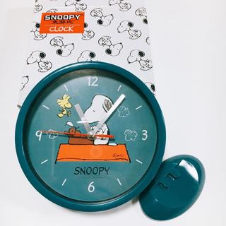 スヌーピー  2way アナログクロック 新品未使用(置時計)