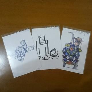 ディズニー(Disney)のポストカード(カード)