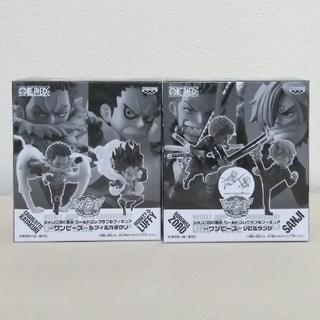 バンプレスト(BANPRESTO)のワーコレ ルフィ&カタクリ ゾロ&サンジ セット(アニメ/ゲーム)