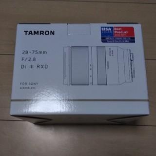 タムロン(TAMRON)のTamron 28-75mm f2.8 Di III RXD 新品未開封(レンズ(ズーム))