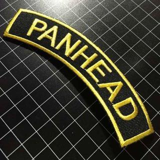 ハーレーダビッドソン(Harley Davidson)のアイロンワッペン★パンヘッド★ハーレー★ハイドラ・デュオグライドPAN(ステッカー)