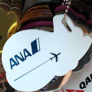 エーエヌエー(ゼンニッポンクウユ)(ANA(全日本空輸))のANA フライトタグ シンガポール購入(航空機)