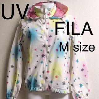 FILA - 定価7452円 新品 FILA フィラ UVカット パーカー ウォーキング
