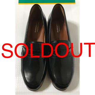 【値下げSALE】新品‼︎合皮《黒レインシューズ》(ローファー/革靴)