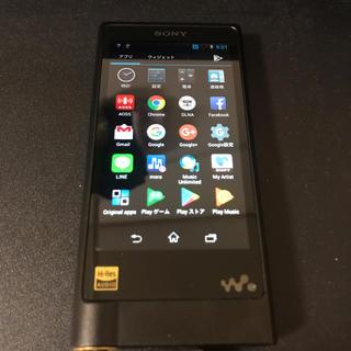 ウォークマン(WALKMAN)のSONY ウォークマン 128GB ハイレゾ音源対応 ブラック NW-ZX2-B(ポータブルプレーヤー)