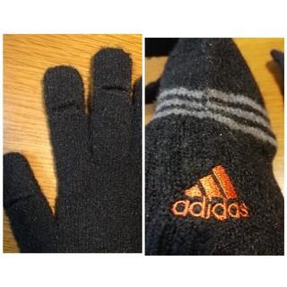 アディダス(adidas)のadidas メンズ 手袋 スマホ対応(手袋)