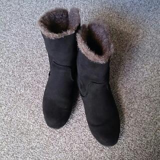 ヴェリココ(velikoko)の■  velikoko ミドル ブーツ 黒 21.5(ブーツ)