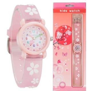 【新品】TICKTOCK 腕時計 桜 pink (腕時計)