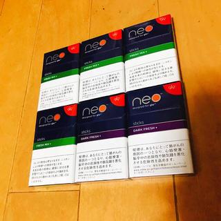 グロー(glo)の【 glo 】 新品 6点セット ダークフレッシュ フレッシュミックス (タバコグッズ)