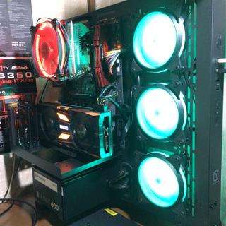 ゲーミングPC i7 8700 gtx960 メモリ16GB aura sync(デスクトップ型PC)