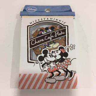 ディズニー(Disney)のミッキー ミニー フレークシール コルク(シール)