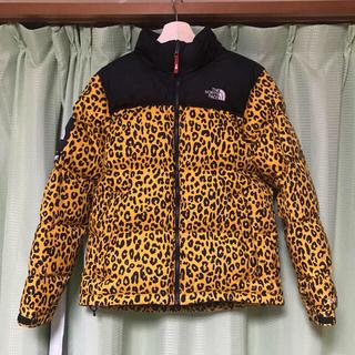 シュプリーム(Supreme)のSサイズ 国内正規品 Supreme×TNF leopard nuptse(ダウンジャケット)