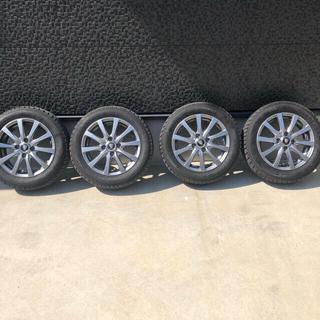 グッドイヤー(Goodyear)のスタットレスタイヤ  155-65-14 (タイヤ・ホイールセット)