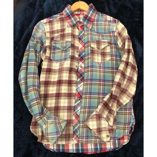 ティーエムティー(TMT)のTMT チェックシャツ クレイジーパターン(シャツ)