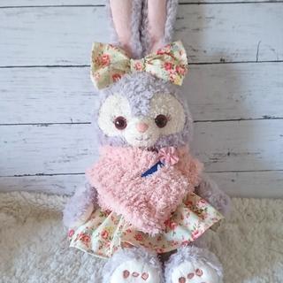 ステラルー(ステラ・ルー)のふわもこマフラー&スカートセット ピンク・花柄(その他)