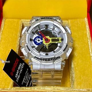 カシオ(CASIO)のG-SHOCK A$AP Ferg GA-110FRG-7AJR コラボモデル(腕時計(デジタル))