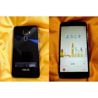 エイスース(ASUS)の◆ASUS ZenFone 3 ZE552KL SIMフリー 黒(台湾版)◆(スマートフォン本体)