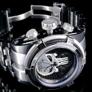 インビクタ(INVICTA)の最高峰◆ インビクタ◆ MARVEL パニッシャー◆定価約43万円◆インヴィクタ(腕時計(アナログ))