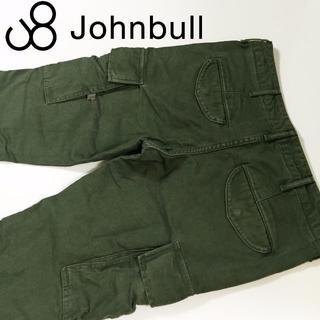 ジョンブル(JOHNBULL)のレディスJOHNBULLミリタリーカーゴパンツ☆サイズL約80cm(ワークパンツ/カーゴパンツ)
