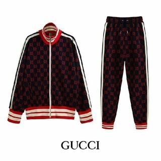 Gucci - 新品未使用GUCCI ジャージ GGジャカードロゴ 上下セット