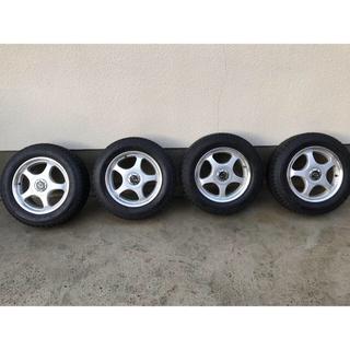 195/65R15 スタッドレスタイヤアルミホイールセット ファルケン製(タイヤ・ホイールセット)
