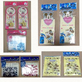 ディズニー(Disney)のラッピング 包装 袋 サンリオ ディズニー キティ ミッキー ミニー(ラッピング/包装)