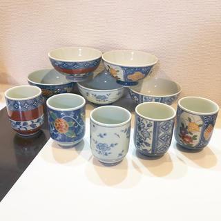 有田焼 茶碗 湯のみ 5セット(陶芸)