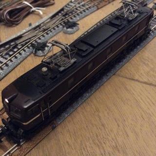 カトー(KATO`)のTOMIX EF58 お召し機 中古 訳あり(鉄道模型)