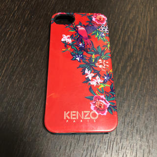 ケンゾー(KENZO)のKENZO スマホケース iPhone 5S ラバー(iPhoneケース)
