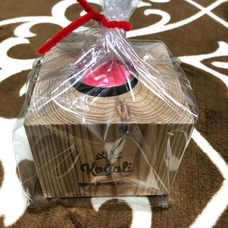 木製 キャンドル台 新品(キャンドル)