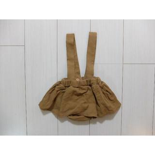 サスペンダースカート 韓国子供服(スカート)