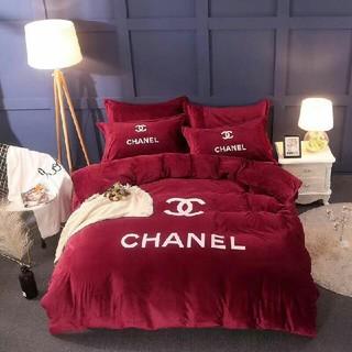 CHANEL - CHANEL 新品 寝具カバーセット 2枚枕カバー*4点セット