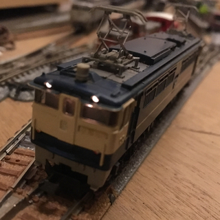 カトー(KATO`)のTOMIX EF65 中古 訳あり(鉄道模型)
