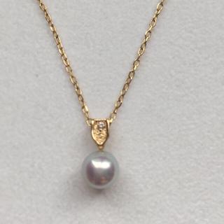 ジュエリーマキ(ジュエリーマキ)のK18 真珠 ペンダントトップ(ネックレス)