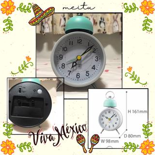 目覚まし時計 置き時計 置時計 アラームクロック めざまし時計(置時計)