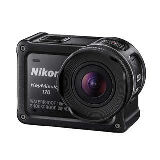 ニコン(Nikon)のNikon 防水アクションカメラ KeyMission 170 BK ブラック(ビデオカメラ)