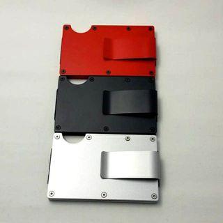 マネークリップ 金属 カードケース クレジットカード(マネークリップ)