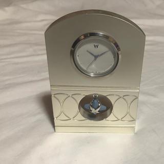 ウェッジウッド(WEDGWOOD)のwedgwood ウエッジウッド  置き時計 未使用(置時計)