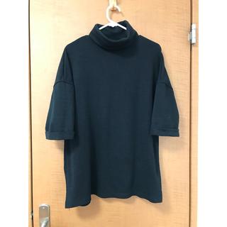 ザラ(ZARA)のZARA ビッグシルエットタートルネックTシャツ(Tシャツ(半袖/袖なし))