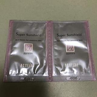 アクセーヌ(ACSEINE)のアクセーヌ 日焼け止め乳液 サンプル(サンプル/トライアルキット)